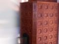 pec DIANA 1 umelecká hrdzavohnedá